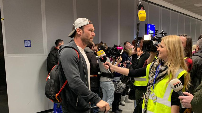 Bastian Yotta am Frankfurter Flughafen