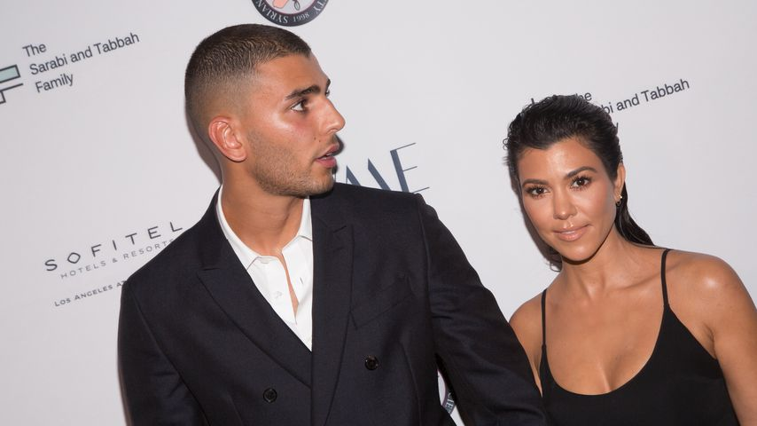 Younes Bendjima und Kourtney Kardashian