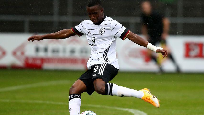 Youssoufa Moukoko fürs U20-Nationalteam im September 2020