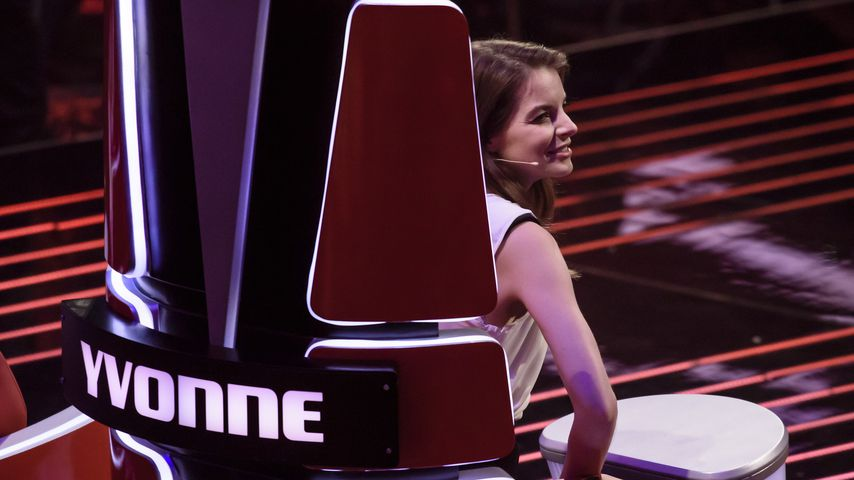 "Yvonne Catterfeld bei ""The Voice of Germany"""
