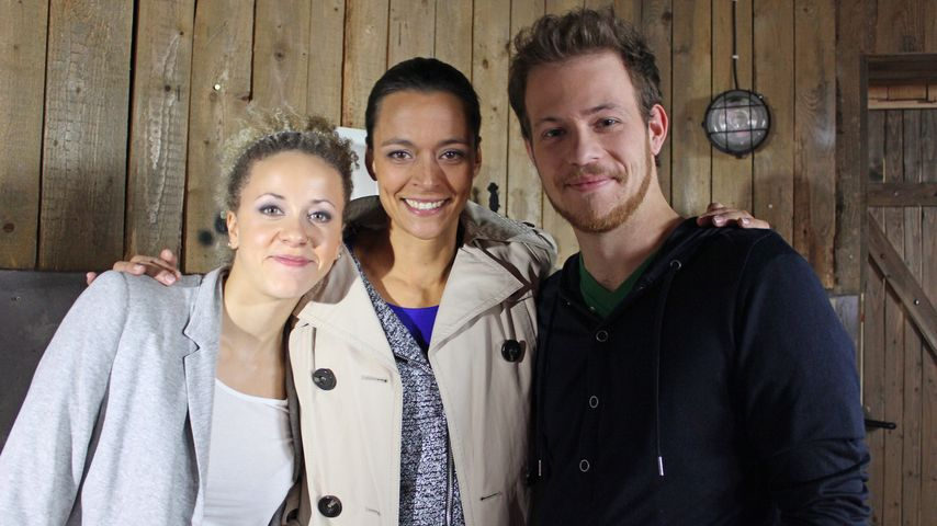 Joy Lee Juana Abiola-Müller, Patrick Müller und Yvonne de Bark
