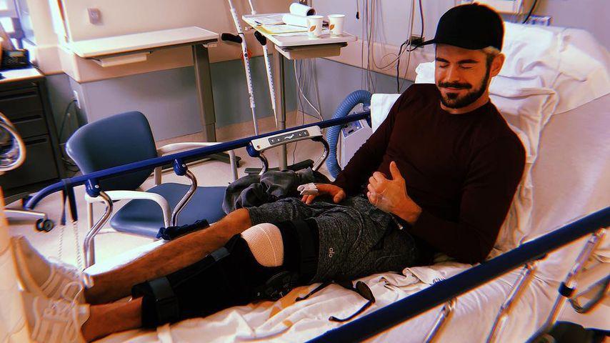 Kreuzbandriss schockt Fans: Zac Efron liegt im Krankenhaus!
