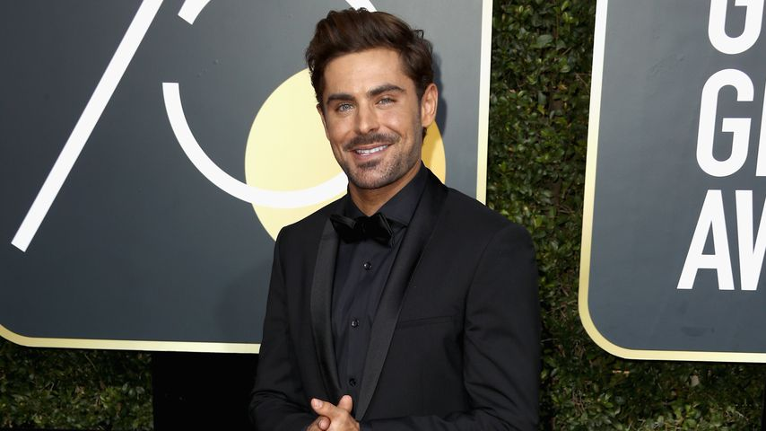 Zac Efron bei den Golden Globe Awards 2018