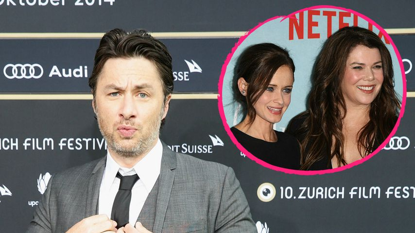 "Neid auf ""Gilmore Girls"": Zach Braff will ""Scrubs""-Reunion"