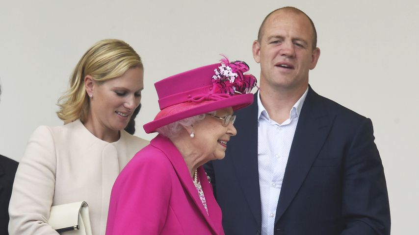 Nach Fehlgeburt: So tröstete die Queen Enkelin Zara Tindall