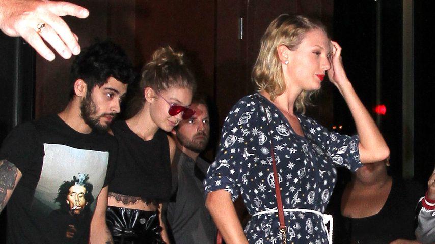 """Unangenehm! Taylor Swift """"crasht"""" Date von Zayn und Gigi"""