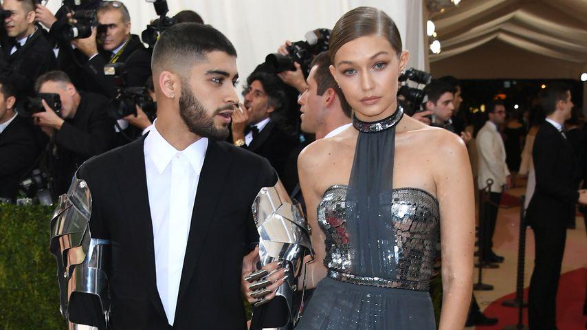Zayn Malik und Gigi Hadid auf einer Gala in New York