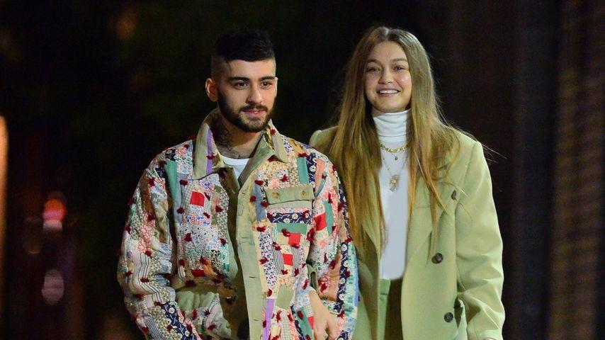 Zayn Malik und Gigi Hadid in New York, 2020