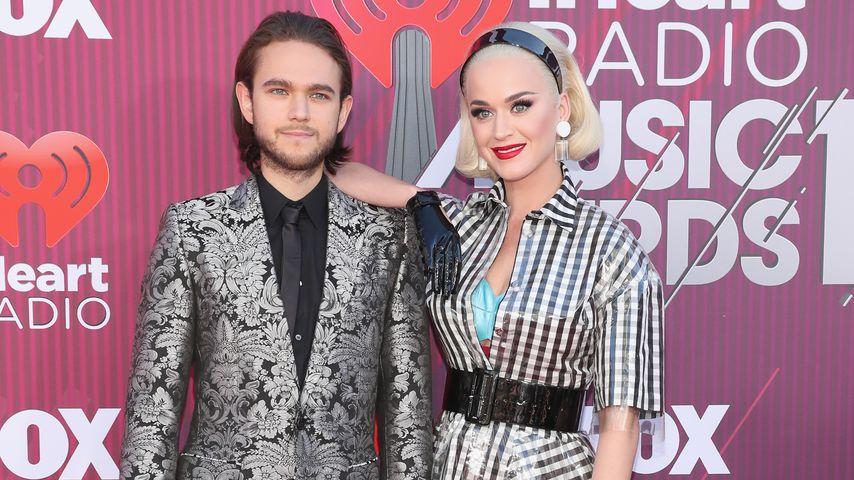 Zedd und Katy Perry bei den iHeartRadio Music Awards 2019