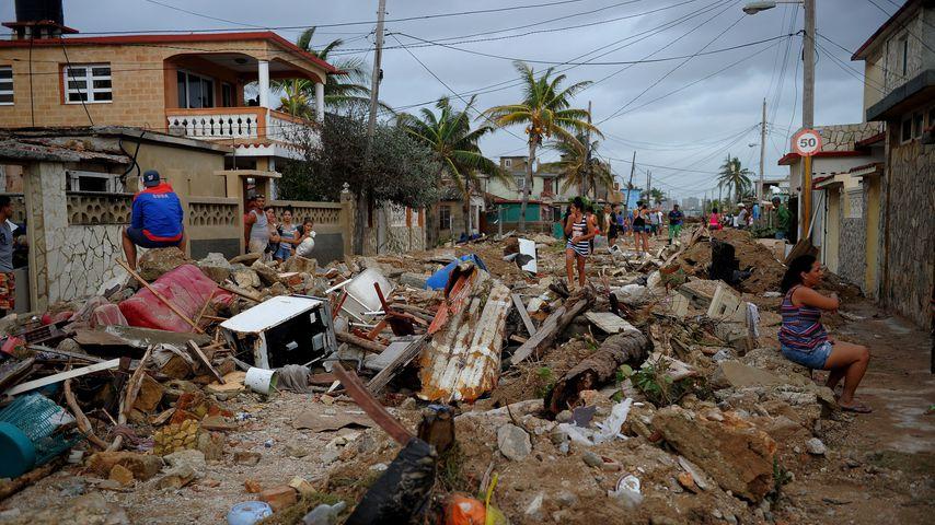 Zerstörungen des Hurrikans Irma auf Kuba