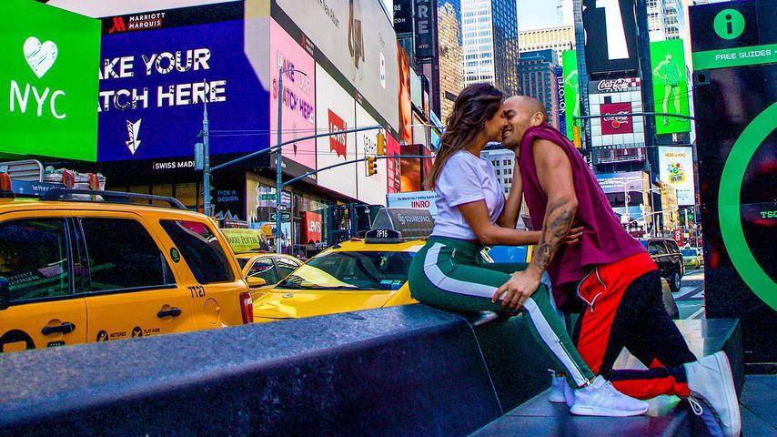 Ziania Rubi und Fabian Nickel in New York