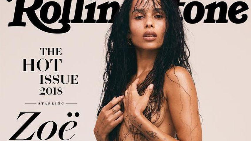 Zoe Kravitz auf dem Rolling Stone-Cover