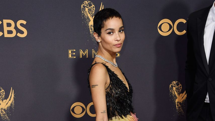 Zoe Kravitz bei den Emmy Awards 2017