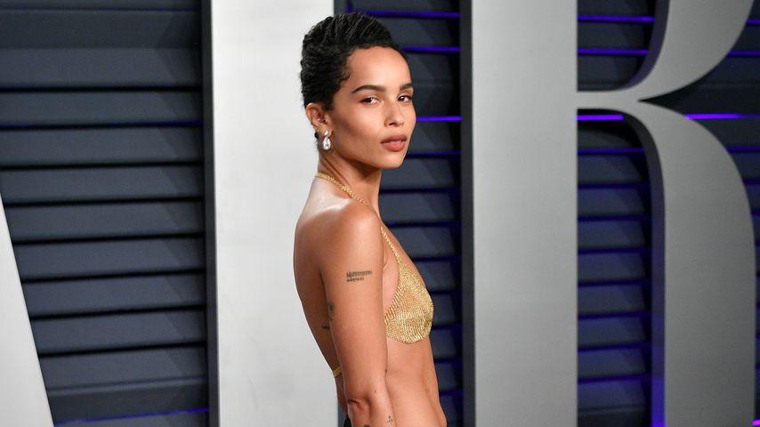 Zoe Kravitz bei der Vanity Fair Oscar Party 2019