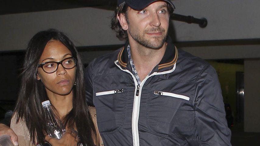 Liebes-Comeback bei Bradley Cooper & Zoe Saldana?
