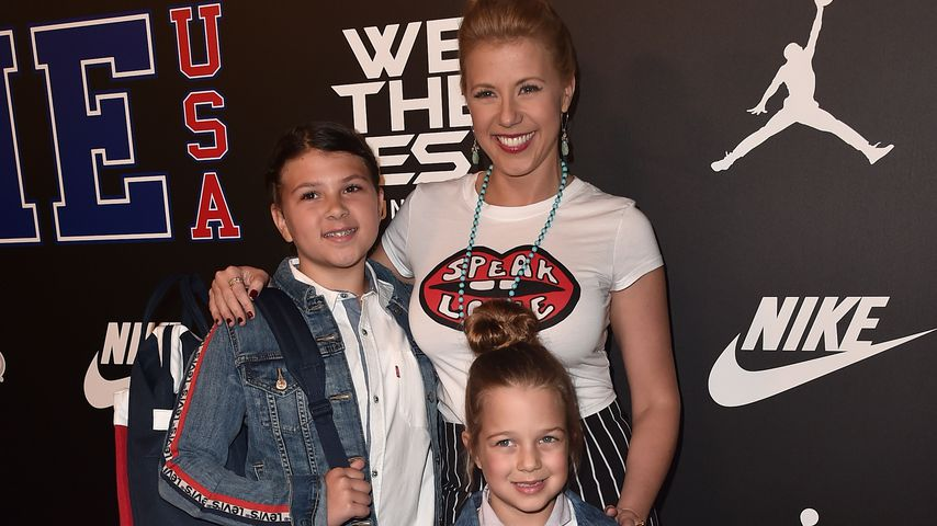 Jodie Sweetin mit ihren Töchtern Zoie Laurel May Herpin und Beatrix Carlin Sweetin-Coyle