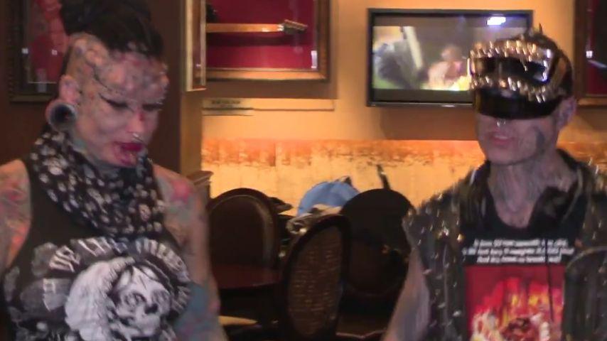 Zombie Boy und Vampire Woman