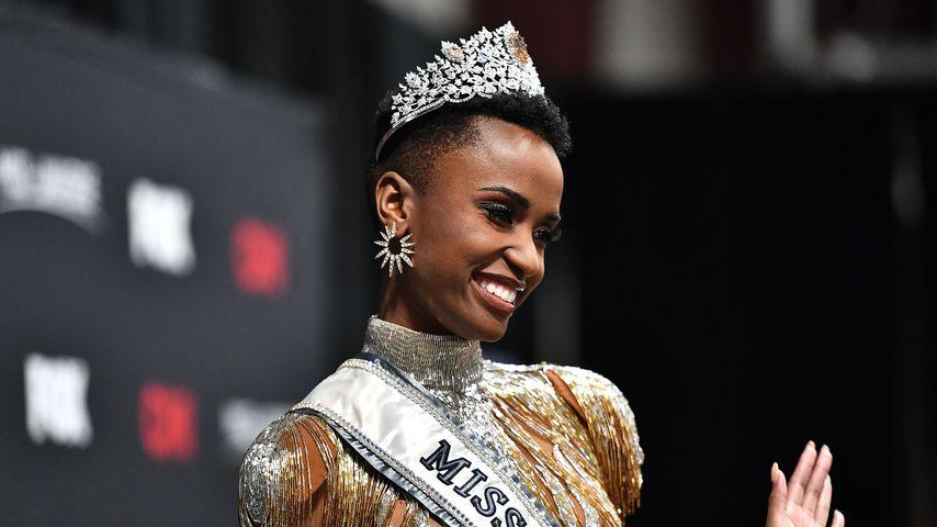 Zozibini Tunzi nach der Miss-Universe-Wahl 2019