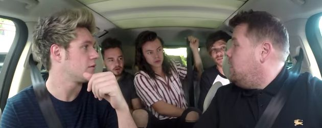 One Direction beim James Cordens Carpool Karaoke