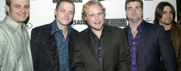 3 Doors Down bei ihrer CD-Release-Party in Manhattan