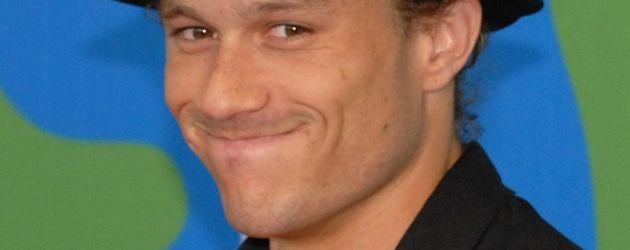 Heath Ledger, mit 28 Jahren verstorben
