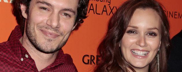 Adam Brody und Leighton Meester im Jahr 2012