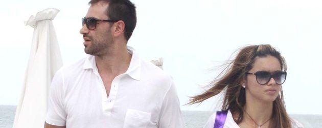Adriana Lima 2013 mit ihrem damaligen Ehemann Marko Jarić