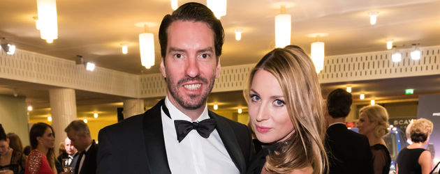 Alec Völkel mit Johanna auf dem Leipziger Opernball