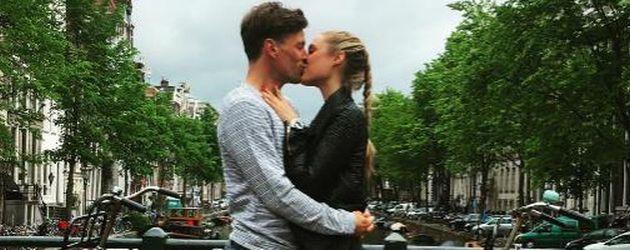 Alena Gerber und Clemens Fritz in Amsterdam