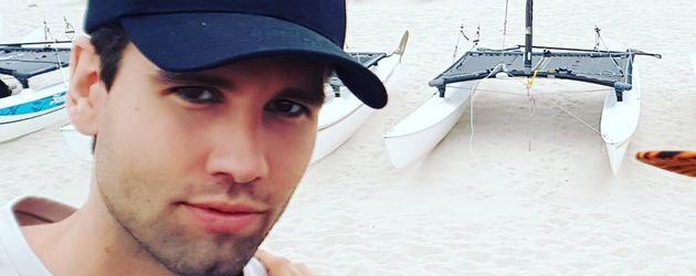 Alexander Keen im Urlaub