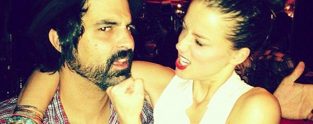 Schauspielerin Amber Heard und Musiker Brandon McCulloch