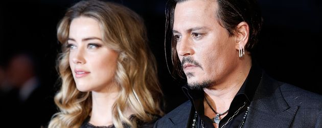 Amber Heard und Johnny Depp beim BFI London Film Festival