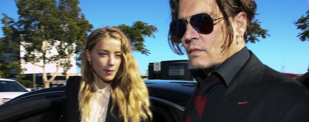 Amber Heard und Johnny Depp in Australien