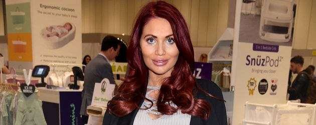 """Amy Childs bei """"The Baby Show"""" in London"""