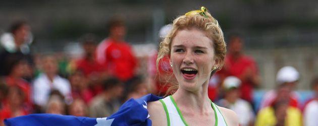 Amy Pejkovic bei Weltjugendmeisterschaften Bressanone, Italien im Jahr 2009