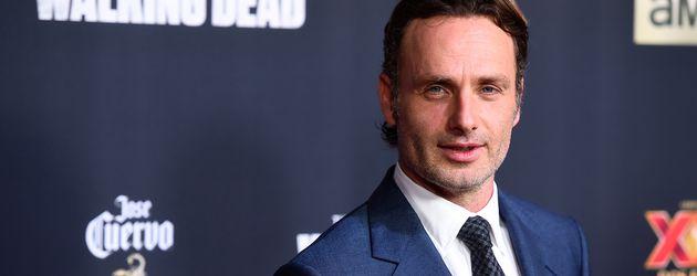 """Andrew Lincoln bei der Premiere der fünften Staffel von """"The Walking Dead"""" in Universal City 2014"""