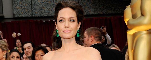 Angelina Jolie bei den Oscar-Verleihungen 2009