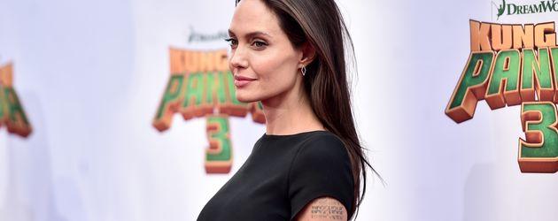 "Angelina Jolie bei der ""Kung Fu Panda 3""-Premiere in Hollywood"