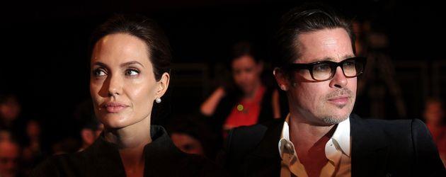 Angelina Jolie und Brad Pitt im Juni 2014 bei einer Veranstaltung der Vereinten Nationen in London