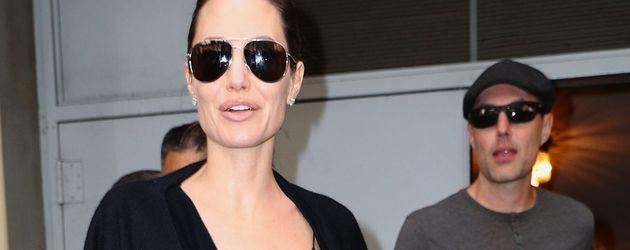 Angelina Jolie und Know Leon Jolie-Pitt in New York