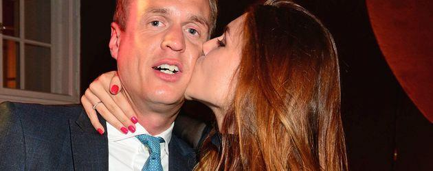 """Angelina und Alexander Posth bei der After Party von """"Dirty Dancing on Tour"""""""