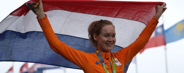 Anna van der Breggen, Olympiasiegerin im Straßenrennen