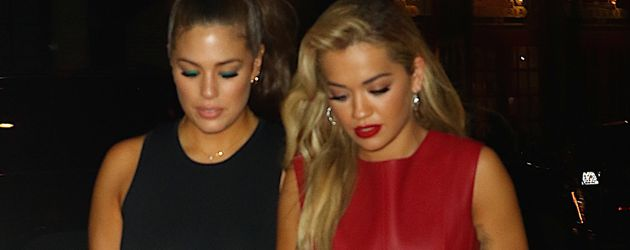 Ashley Graham und Rita Ora in New York