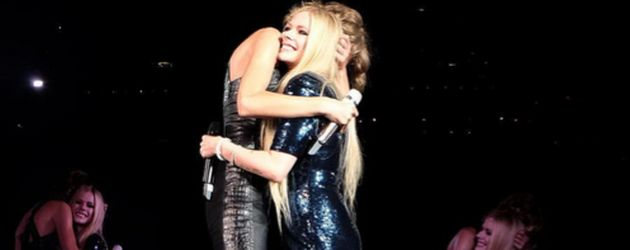 Taylor Swift und Avril Lavigne