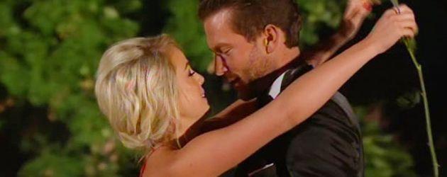 Liz Kaeber und Oliver Sanne im Bachelor-Finale