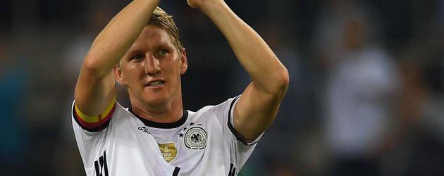 Bastian Schweinsteiger bei seiner DFB-Verabschiedung