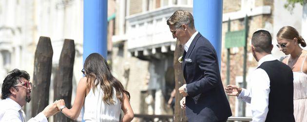 Bastian Schweinsteiger und Ana Ivanovic bei ihrer Hochzeit in Venedig
