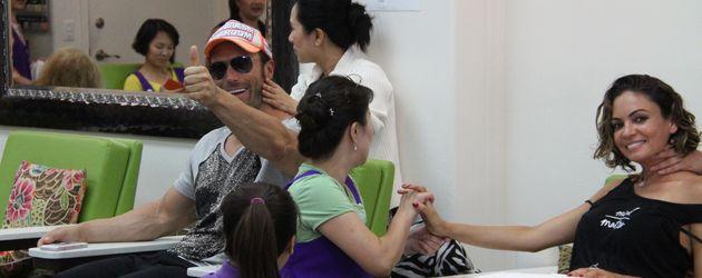 Bastian Yotta und Sandra Luesse in Beverly Hills