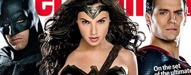 Ben Affleck, Henry Cavill, Batman und Wonder Woman
