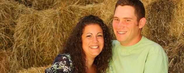 """""""Bauer sucht Frau""""-Kandidat Guy und seine Frau Victoria"""